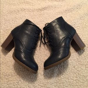 Shoes - Bella Marie dark blue boots